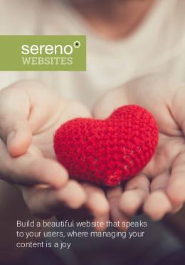 Sereno Websites - brochure