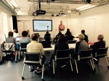 Sereno's Git presentation at Sussex University