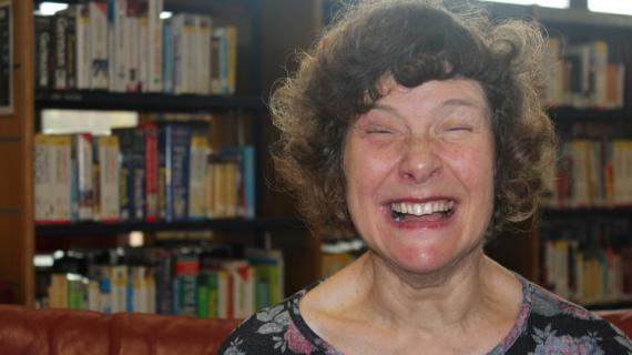 Southdown Laughing Woman