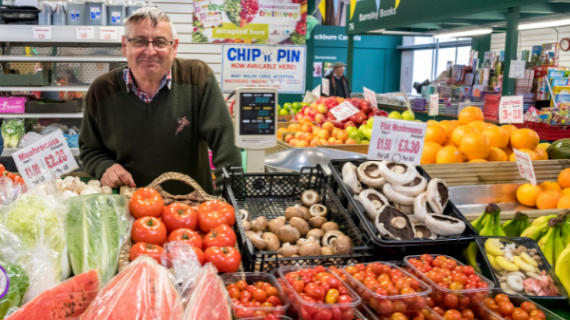 Barnsley stall